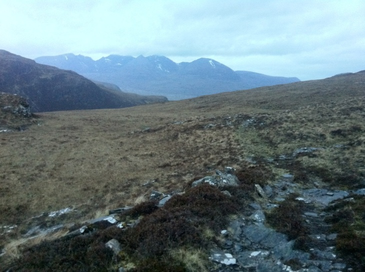 Towards An Teallach