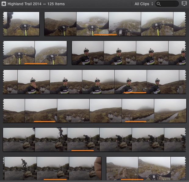 iMovie - Clip Viewer