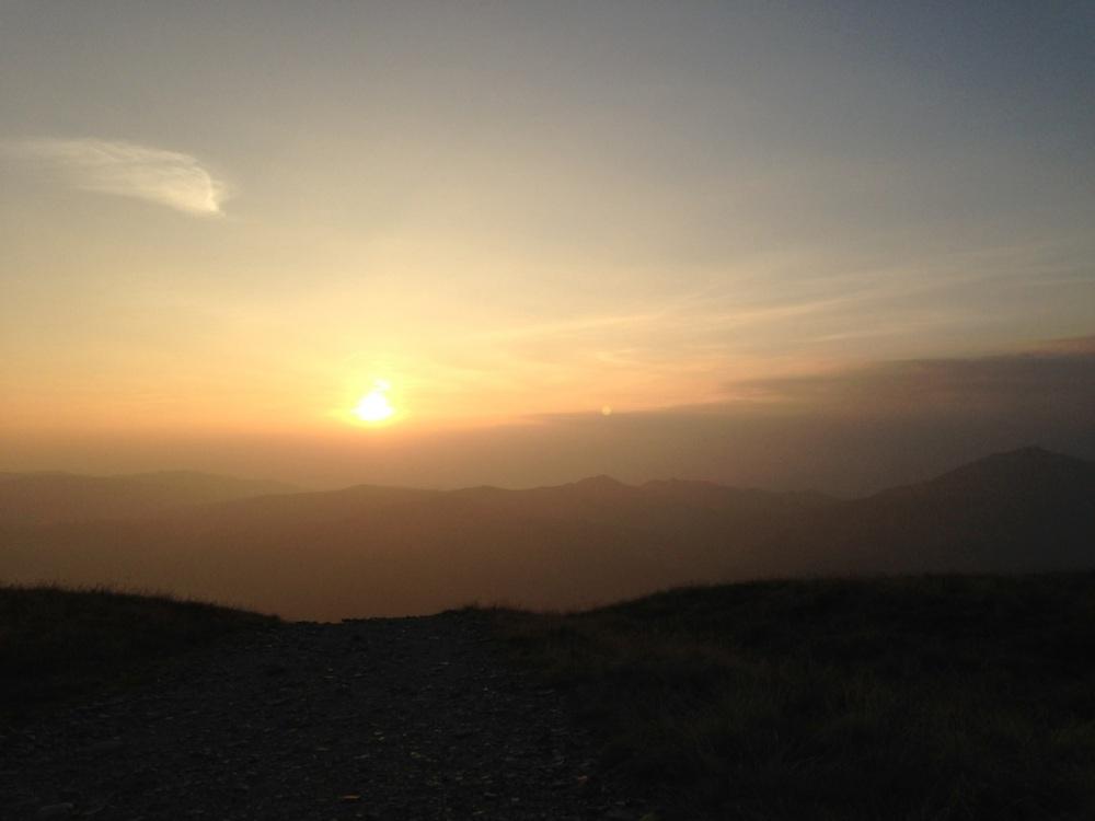 Walna Scar Sunset