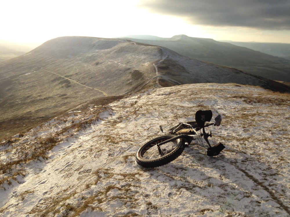 Snowy Black Mountains