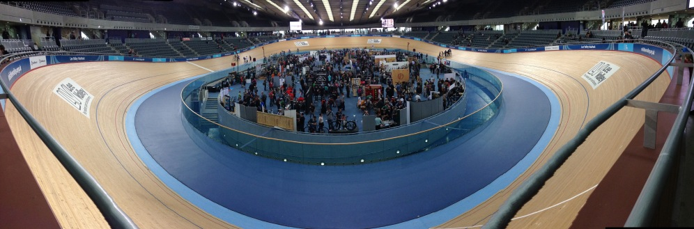 April: Lee Valley Velodrome