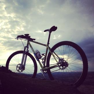 July: back on the bike properly