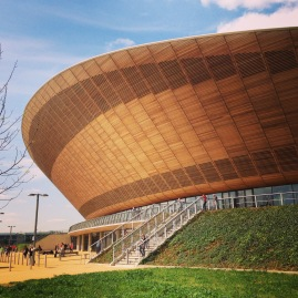 April: Lee Valley Velodrome, hosting Bespoked