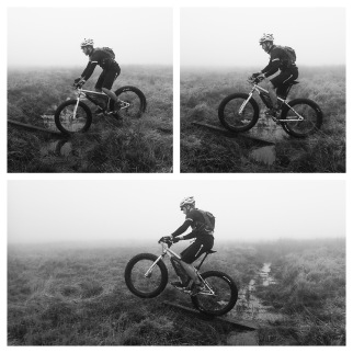 November: Fat bike fun on Monks Trod