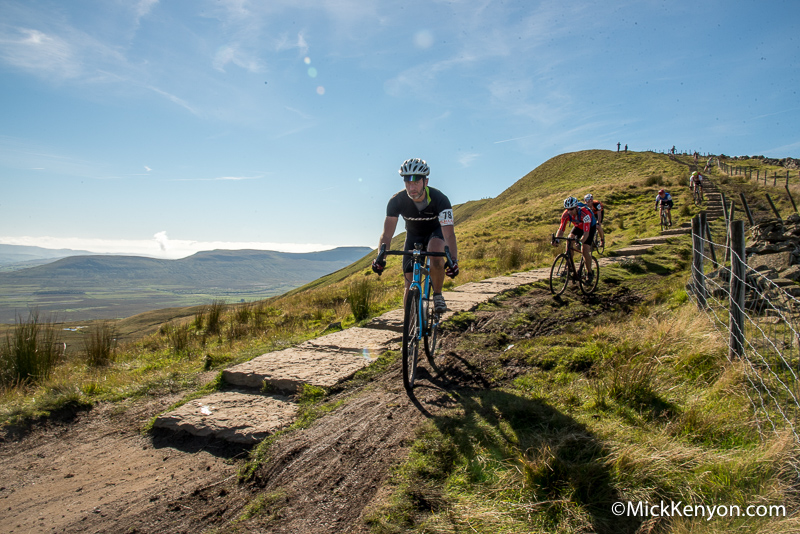 Top of the Whernside descent